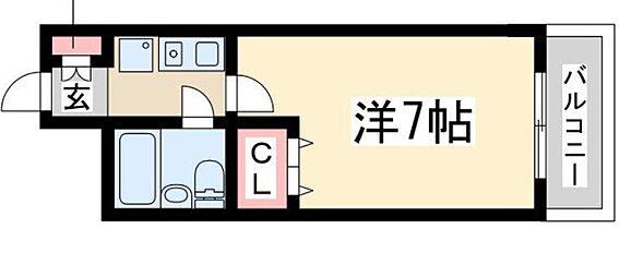マンション(建物一部)-大阪市淀川区西中島1丁目 間取り