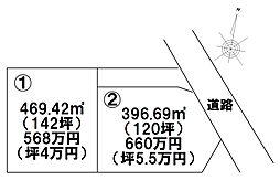 佐野市飯田町 2区画