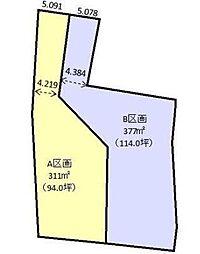 高崎市南大類町全2区画B 大類小学校・大類中学校区域 小学