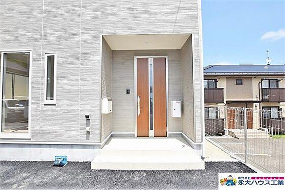 戸建賃貸-仙台市太白区茂庭字新組 玄関