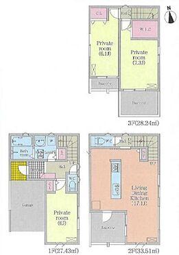 新築一戸建て-名古屋市千種区大久手町5丁目 リビング階段でご家族とのコミュニケーションもとりやすいです!