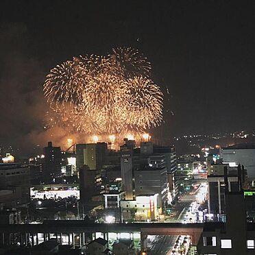 中古マンション-豊田市小坂本町5丁目 花火が楽しめる絶景のロケーションです!