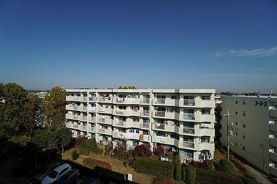 中古マンション-横浜市青葉区あざみ野3丁目 北側バルコニーからの眺望2