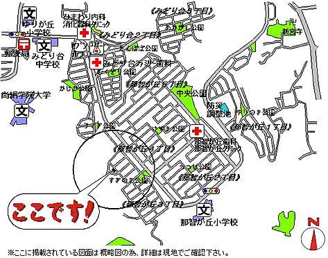 建物全部その他-名取市那智が丘3丁目 地図