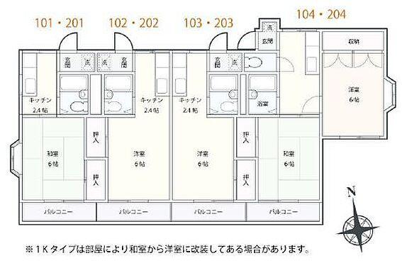 アパート-横浜市磯子区杉田5丁目 間取り