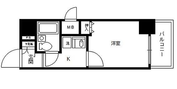 マンション(建物一部)-京都市下京区順風町 人気・角部屋1K