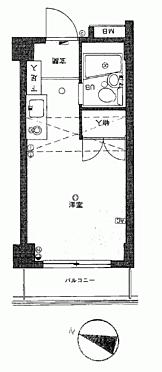 マンション(建物一部)-福岡市城南区別府3丁目 間取り