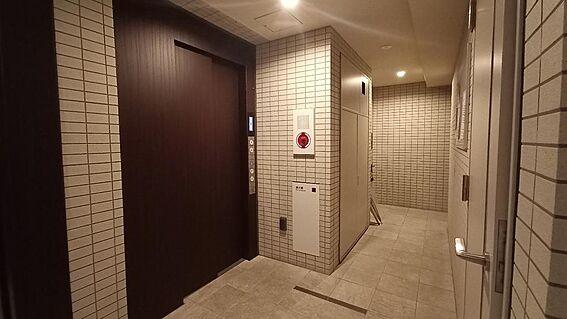 中古マンション-新宿区下落合3丁目 エレベーターホール