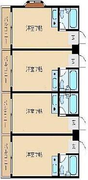 マンション(建物全部)-東大阪市上小阪3丁目 間取り