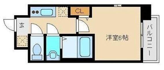 マンション(建物一部)-大阪市中央区東高麗橋 単身者向けの1Kプラン