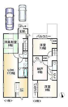新築一戸建て-神戸市垂水区馬場通 間取り