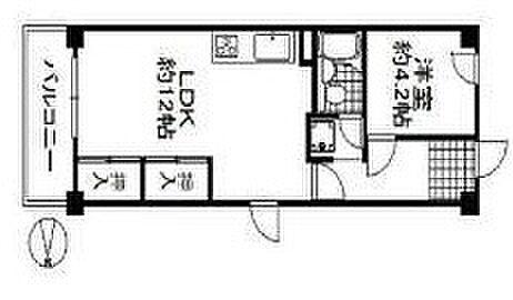 区分マンション-大阪市東成区東中本2丁目 図面より現況を優先します。