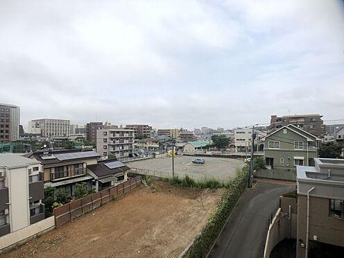 区分マンション-福岡市城南区別府6丁目 廊下側からの眺望です。