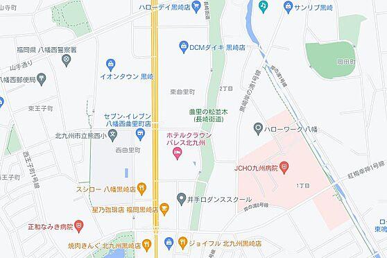 マンション(建物一部)-北九州市八幡西区岸の浦1丁目 地図