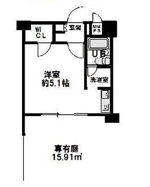 区分マンション-神戸市兵庫区駅前通5丁目 間取り