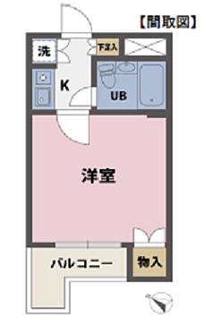 マンション(建物一部)-渋谷区本町4丁目 間取り