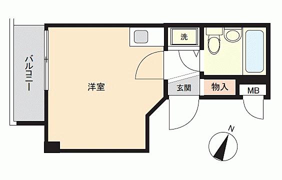 マンション(建物一部)-練馬区石神井町6丁目 間取り
