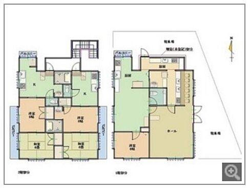 住宅付店舗(建物全部)-中郡大磯町西小磯 間取り図
