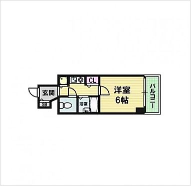 マンション(建物一部)-大阪市中央区南本町1丁目 間取り