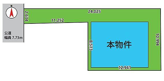 アパート-葛飾区東堀切1丁目 配置図