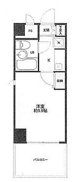マンション(建物一部)-京都市右京区西院清水町 室内洗濯機置場があり使いやすい間取り