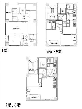 マンション(建物全部)-大田区蒲田 間取り