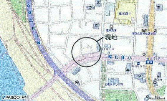 ビル(建物全部)-足立区鹿浜2丁目 地図