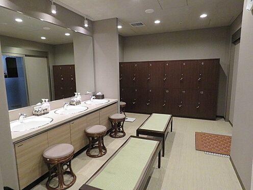 中古マンション-町田市三輪緑山1丁目 大浴場の脱衣室