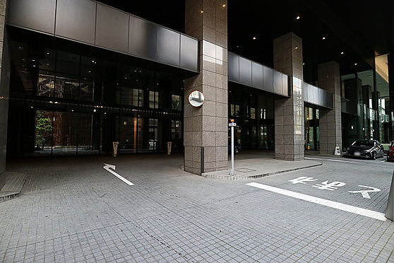 区分マンション-川崎市中原区市ノ坪 車寄せスペース