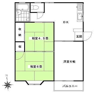 アパート-佐倉市上志津 間取り