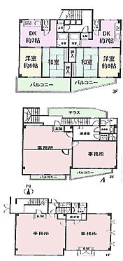 マンション(建物全部)-新宿区高田馬場3丁目 間取図