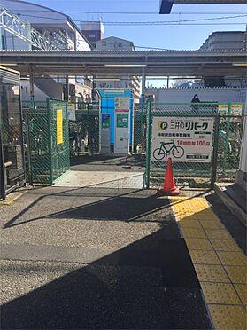 土地-坂戸市溝端町 駅前駐輪場(1145m)