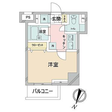 マンション(建物一部)-板橋区栄町 間取り