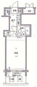 マンション(建物一部)-中野区弥生町5丁目 間取り図
