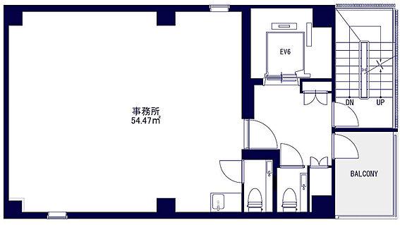 収益ビル-中央区築地3丁目 3〜9階店舗部分