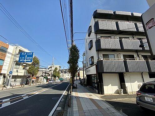 収益ビル-藤沢市本町4丁目 前面道路17.39m幹線道路。