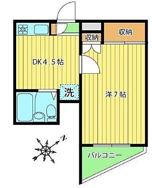 区分マンション-板橋区弥生町 間取り