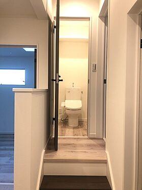 新築一戸建て-上尾市愛宕1丁目 2階トイレ