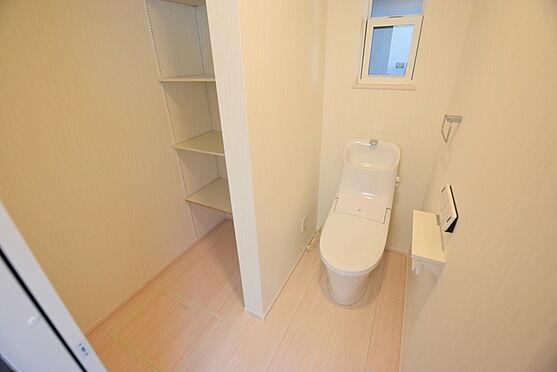 新築一戸建て-仙台市太白区郡山8丁目 トイレ