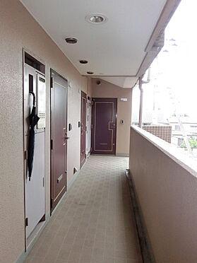 マンション(建物一部)-足立区谷中3丁目 共用廊下の様子です