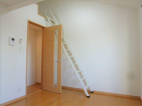 アパート-横浜市神奈川区入江1丁目 この梯子を使ってロフト内へ