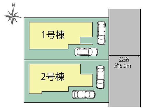 新築一戸建て-豊田市宝来町4丁目 区画図