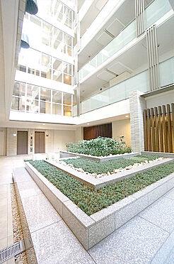 中古マンション-中央区築地7丁目 1階中庭