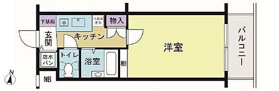 マンション(建物一部)-世田谷区駒沢2丁目 間取り