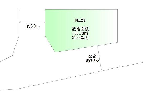 土地-仙台市太白区山田本町 区画図
