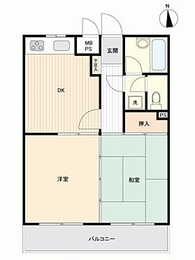 マンション(建物一部)-平塚市東八幡4丁目 間取り