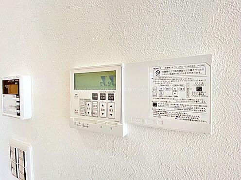 戸建賃貸-多摩市聖ヶ丘3丁目 床暖房リモコン。埃を立てずに足元からポカポカ温めてくれます。