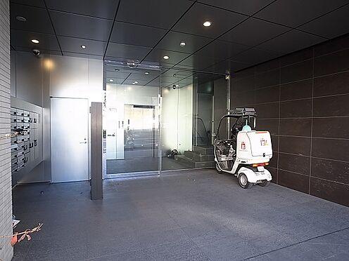 中古マンション-新宿区余丁町 現地エントランス
