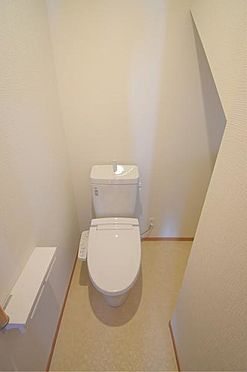 新築一戸建て-仙台市太白区中田2丁目 トイレ