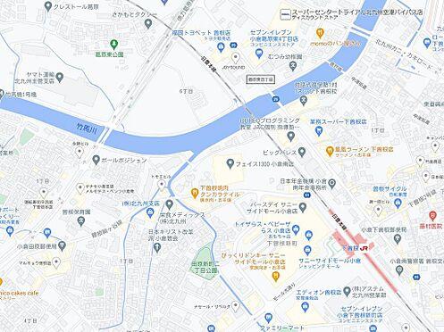 マンション(建物一部)-北九州市小倉南区津田新町1丁目 地図